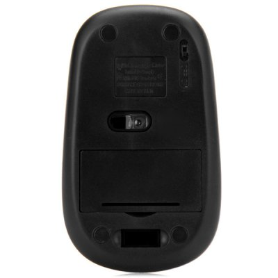 Фотография Ultra Mini Practical 3 Buttons 2.4GHz 1000DPI Wireless Optical Mice with Receiver for Desktop Laptop