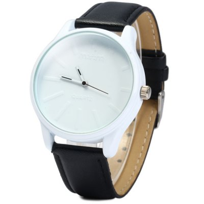 Гаджет   Mitina M - 127 Japaese Quartz Movement Female Watch Round Dial Leather Band Women