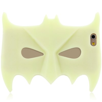 ФОТО Batman Mask Style Silicone Material Back Cover Case for iPhone 6  -  4.7 inches