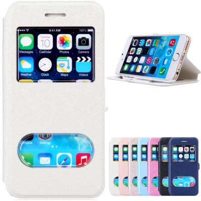 PC and PU Material Cover Case for iPhone 6 - 4.7 inches