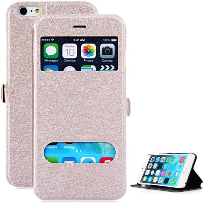 PC and PU Cover Case for iPhone 6 Plus - 5.5 inches