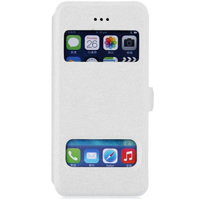 Practical PC and PU Material Cover Case for iPhone 5 5S