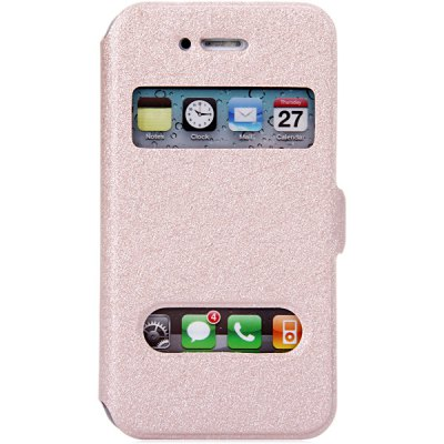 Гаджет   Practical PC and PU Material Cover Case for iPhone 4 4S