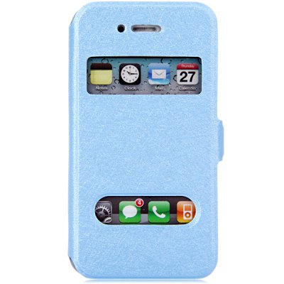 Гаджет   Practical PC and PU Material Cover Case for iPhone 4 4S iPhone Cases/Covers