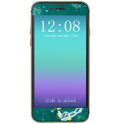Гаджет   Novelty Scorpid Pattern Phone Decal Skin Protective Full Body Sticker  -  Virgo Other Cases/Covers