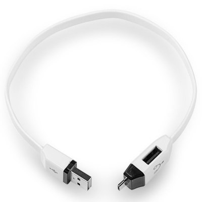 Multifunctional USB 2.0 Male to USB 2.0 Female and Micro USB Charging Sync and OTG Cable