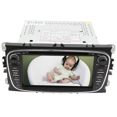 Гаджет   7 inch 2 Din TFT Screen Car DVD Player with Radio Bluetooth GPS ATV Functions for Ford Mondeo 2004  -  2014