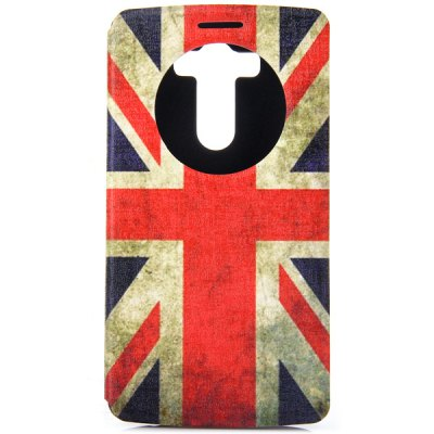 Fashionable the Union Jack Pattern PC and PU Material Cover Case for LG G3