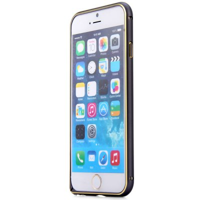 Гаджет   Frame Style Dual Color Aluminium Alloy Bumper Case for iPhone 6  -  4.7 inches iPhone Cases/Covers