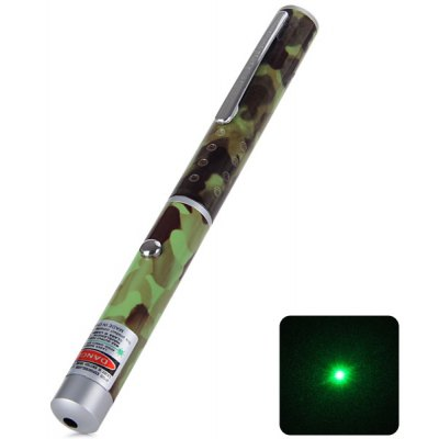 High Performance 5mw Green Light Laser Pointer for Powerpoint Projector (532nm 2 x AAA Battery)