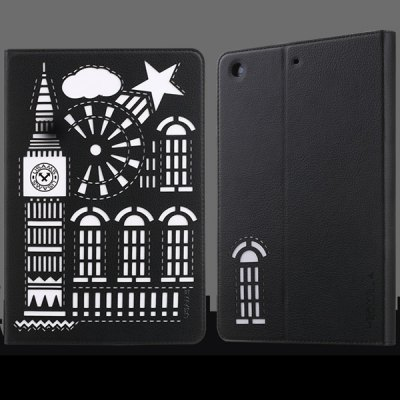 Гаджет   USAMS Tower Series PU and TPU Material Cover Case of Hollow Out Pattern for iPad Air 2 iPad Cases/Covers