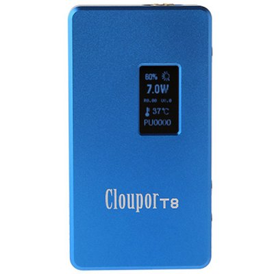 Cloupor T8 Variable Wattage 7  -  150W E - Cigarette Mod
