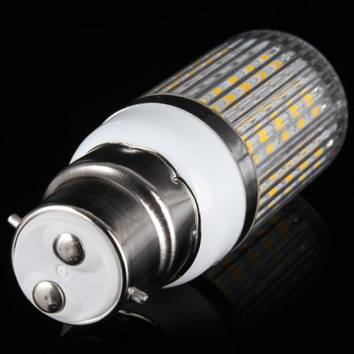 Гаджет   B22 15W 1350LM 48 x SMD 5630 Warm White LED Corn Lamp with Striped Cover  -  100  -  120V LED Light Bulbs