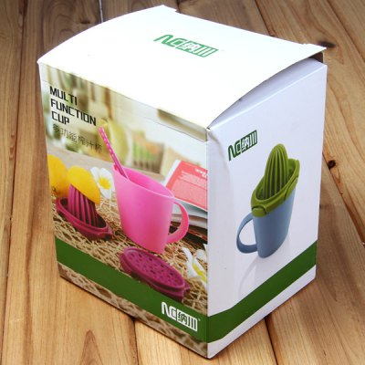 ФОТО Multi - use Low Carbon Style Plastic Juicer Set Household Supplies
