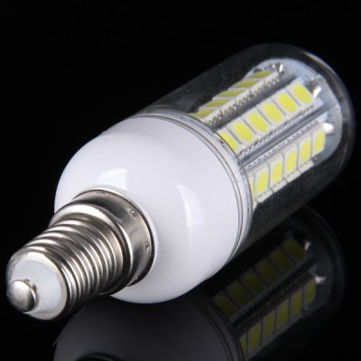 Гаджет   E14 15W SMD 5050 48  -  LEDs 1350Lm Light Transparent White Light Corn Light (6000  -  6500K) LED Light Bulbs