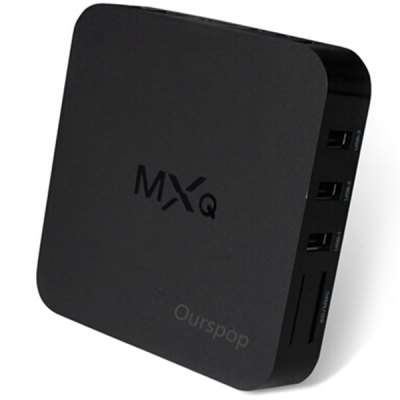 OURSPOP HDQ Android 4.4.2 Quad-Core WiFi Google TV Player TV Box