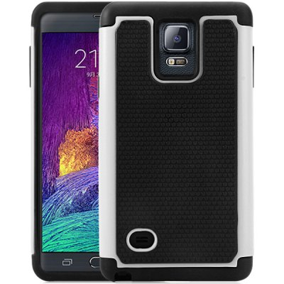 ФОТО Novelty Ball Texture Pattern PC and Silicone Back Case Cover for Samsung Galaxy Note4 N9100