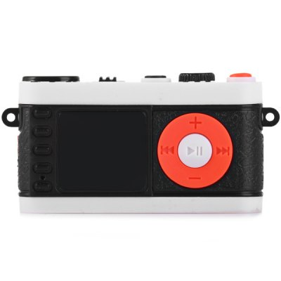 Гаджет   Portable Camera Style MP3 Player with Universal 3.5mm Jack Support TF Card Mini USB Interface MP3 & MP4 Players