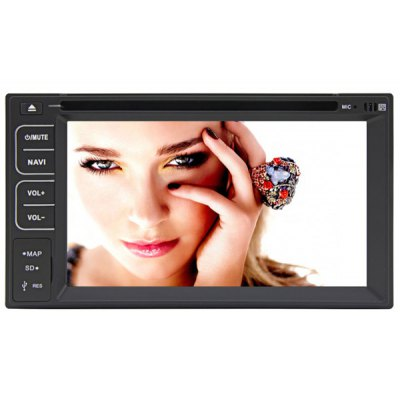 Rungrace - 261AGAR Android 4.2 6.2 inch Multi  -  Touch Screen 2 Din Universal In - dash Car DVD Player