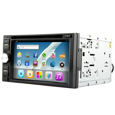 Rungrace - 263AGNR Android 4.2 6.2 inch Multi  -  Touch Capacitive Screen 2 Din In - dash Car DVD PlayerCar DVD Player<br>Rungrace - 263AGNR Android 4.2 6.2 inch Multi  -  Touch Capacitive Screen 2 Din In - dash Car DVD Player<br><br>Type  : 2-DIN<br>Installation Site : In-Dash<br>Special Function  : GPS, IPOD Function, AM/FM Radio<br>Screen Type: Digital touch screen<br>Screen Size : 10inch<br>Screen Resolution : 800 x 480<br>RAM (memory): DDR3 1GB<br>FLASH (internal storage): 8GB<br>AM/FM Radio: support RDS function<br>Media Format : DVD-R/RW, 3GP, MKV, DVD-RAM, RMVB, Video CD, RM, MP3, AVI, MP4, CD, FLV, WMA<br>OSD Language: Czech, Japanse, German, Spanish, Chinese, Swedish, Turkish, English, French, Arabic, Portuguese, Russian, Italian<br>Package weight   : 2.9 kg<br>Product size (L x W x H)  : 17.8 x 16 x 10 cm / 7 x 6.3 x 3.9 inches<br>Package size (L x W x H)  : 25.5 x 23.5 x 16 cm<br>Package Contents: 1 x DVD Host, 1 x Remote Control, 1 x User Manual, 1 x iPod Cable, 1 x GPS Antenna, 1 x Power Cable