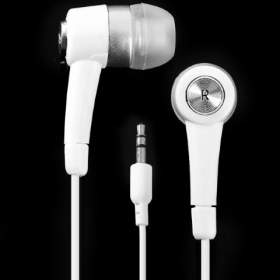 Stylish In - ear Earphone 1.2m Round Cable Headphone with 3.5mm Jack