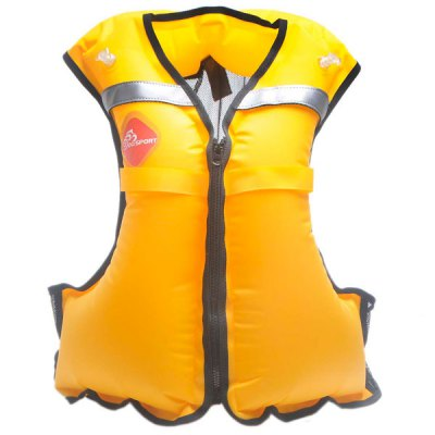 Inflatable 15kg Buoyancy Snorkeling Life Jackets Vest Surfing Beach Fishing Necessary