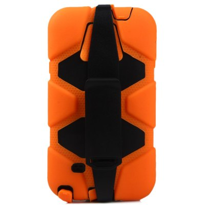 ФОТО Novelty PC and Silicone Material Back Cover Case for Samsung Galaxy Note 4 N9100
