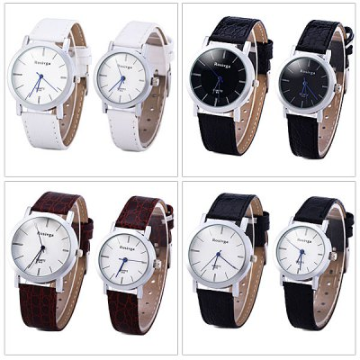 Rosivga 810 Couple Quartz Watch Round Dial Leather WatchbandCouples Watches<br>Rosivga 810 Couple Quartz Watch Round Dial Leather Watchband<br><br>Brand: Rosivga<br>Watches categories: Couple tables<br>Watch style: Fashion<br>Available Color: Multi-Color, White, Brown, Black<br>Shape of the dial: Round<br>Movement type: Quartz watch<br>Display type: Analog<br>Case material: Alloy<br>Band material: Leather<br>Clasp type: Pin buckle<br>The male dial dimension (L x W x H): 3.7 x 3.7 x 0.8 cm / 1.5 x 1.5 x 0.3 inches<br>The male watch band dimension (L x W): 24 x 1.8 cm / 9.4 x 0.7 inches<br>The male watch weight: 0.034 kg<br>The male watch size (L x W x H): 24 x 3.7 x 0.8 cm / 9.4 x 1.5 x 0.3 inches<br>The female dial dimension (L x W x H): 2.8 x 2.8 x 0.6 cm / 1.1 x 1.1 x 0.2 inches<br>The female watch band dimension (L x W): 20.8 x 1.4 cm / 8.2 x 0.6 inches<br>The female watch weight: 0.018 kg<br>The female size (L x W x H): 20.8 x 1.4 x 0.6 cm / 8.2 x 0.6 x 0.2 inches<br>Package contents: 2 x Watch