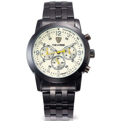 Tevise 8409-003 Men Analog Automatic Mechanical Watch