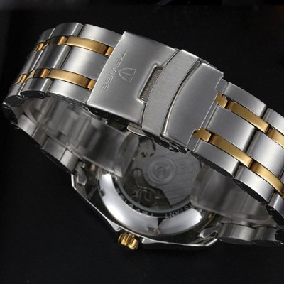 Фотография Tevise 8379A Automatic Mechanical Watch Tourbillon Round Dial Stainless Steel Band for Men