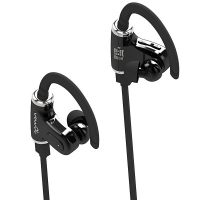 Roman S530 Double Ear Peices with Clear Voice Wireless Portable Outdoor Sports Bluetooth 4.0 Stereo Earbuds Headset Headphones Dual Earphones for Tablet PC Smartphones
