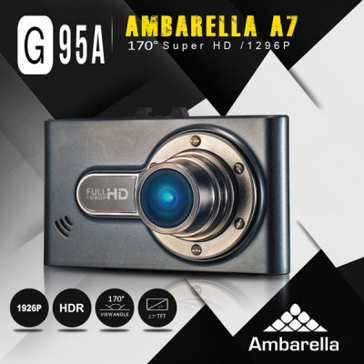 DOME G95A 2.7 inch 1296P HD LCD Screen Car DVR Camcorder