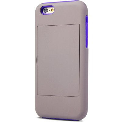 ФОТО Novelty Silicone and PC Material Back Cover Case for iPhone 6 Plus  -  4.7 inches