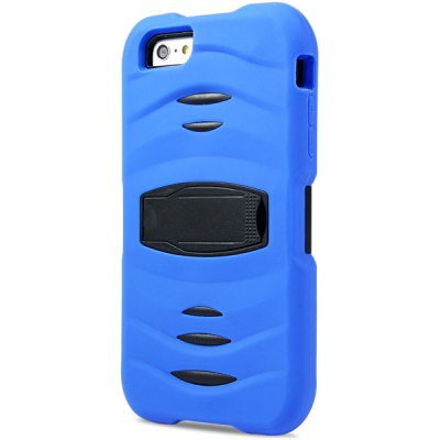 Гаджет   Novelty Silicone and PC Material Back Cover Case for iPhone 6 Plus  -  5.5 inches iPhone Cases/Covers