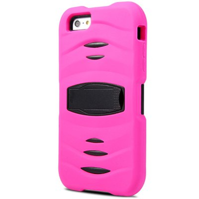 ФОТО Novelty Silicone and PC Material Back Cover Case for iPhone 6 Plus  -  5.5 inches