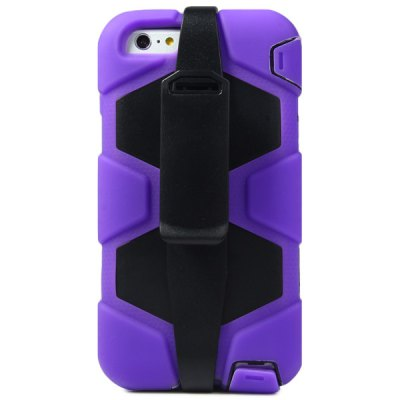 ФОТО Novelty PC and Silicone Material Back Cover Case for iPhone 6 Plus  -  5.5 inches