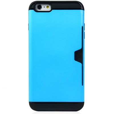 ФОТО Exquisite TPU and PC Material Back Cover Case for iPhone 6 Plus  -  5.5 inches