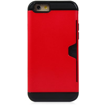 ФОТО Exquisite TPU and PC Material Back Cover Case for iPhone 6  -  4.7 inches