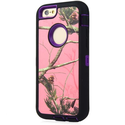 ФОТО Branch Pattern TPU and PC Material Back Case Cover for iPhone 6  -  4.7 inches