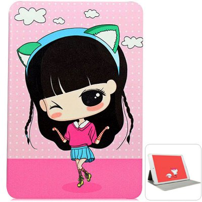 KAKU Xiaoxi Jump Rope Pattern PU and PC Material Cover Case for iPad mini 2