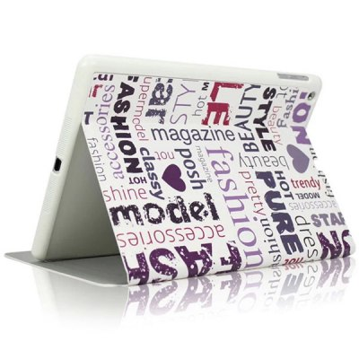 Гаджет   KAKU Letter Pattern PU and PC Material Cover Case for iPad 2 / 3 / 4 iPad Cases/Covers
