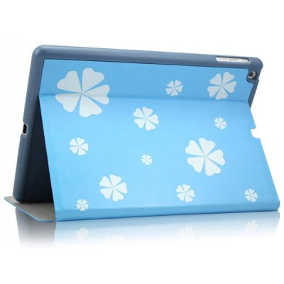 KAKU Xiaoxi Pattern PU and PC Material Cover Case for iPad Air