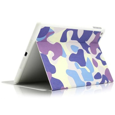 KAKU Purple Camouflage Pattern PU and PC Material Cover Case for iPad AiriPad Cases/Covers<br>KAKU Purple Camouflage Pattern PU and PC Material Cover Case for iPad Air<br><br>Compatible for Apple: iPad Air<br>Features: Full Body Cases, Cases with Stand<br>Material: Plastic, PU Leather<br>Style: Special Design<br>Product weight : 0.226 kg<br>Package weight : 0.310 kg<br>Product size (L x W x H): 24.7 x 18.0 x 1.8 cm / 9.7 x 7.1 x 0.7 inches<br>Package size (L x W x H) : 27 x 19.8 x 2.5 cm<br>Package Contents: 1 x Case