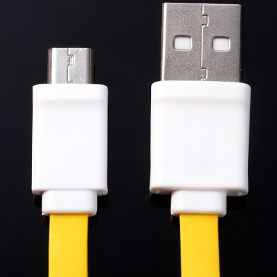 K31 Portable 90cm Flat Style Micro USB Cable