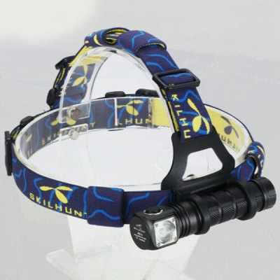 Skilhunt H02C Cree XML Color 260Lm 7 Modes Torch