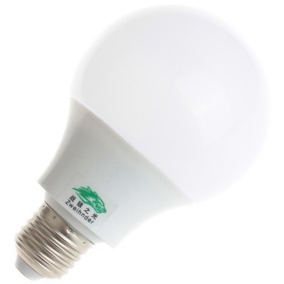 Zweihnder 600LM E27 7W SMD 5730 18 LED Lights 5500  -  6000K Milky Sheating Globe BulbLED Light Bulbs<br>Zweihnder 600LM E27 7W SMD 5730 18 LED Lights 5500  -  6000K Milky Sheating Globe Bulb<br><br>Brand : Zweihnder<br>Base Type: E27<br>Type: Ball Bulbs<br>Output Power: 7W<br>Emitter Type: SMD-5730 LED<br>Total Emitters: 18 LEDs<br>Actual Lumen(s): 600Lm<br>Voltage (V): AC 220-240<br>Features: Energy Saving, Low Power Consumption, Long Life Expectancy<br>Function: Home Lighting, Commercial Lighting, Studio and Exhibition Lighting<br>Available Light Color: Cold White, Natural White<br>Sheathing Material: PC<br>Product Weight: 0.056 kg<br>Package Weight: 0.084 kg<br>Product Size (L x W x H): 11.5 x 7 x 7 cm / 4.53 x 2.76 x 2.76 inches<br>Package Size (L x W x H): 12 x 7.6 x 7.6 cm<br>Package Contents: 1 x Zweihnder E27 7W 18 SMD 5730 600Lm Milky Sheating Ball Bulb