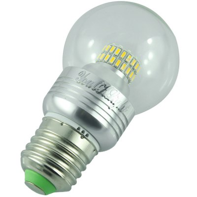 Гаджет   YouOKLight E27 50 x SMD  -  3014 5W 500Lm 3000K Silver Globe Bulb with Transparent Sheating LED Light Bulbs