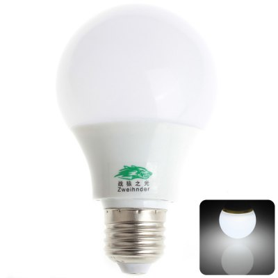 Zweihnder E27 9W 26 SMD 5730 800Lm White Light Milky Ball Bulb