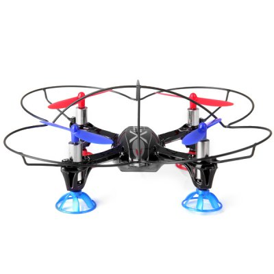 ФОТО WLtoys V343 Sea - Glede 6 - Axis 2.4G 4CH RC Quadcopter Toy Aircraft W/ LED Light