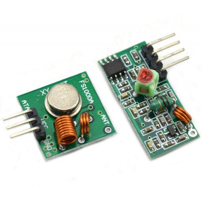 433MHz RF Wireless Transmitter Receiver Module Kit